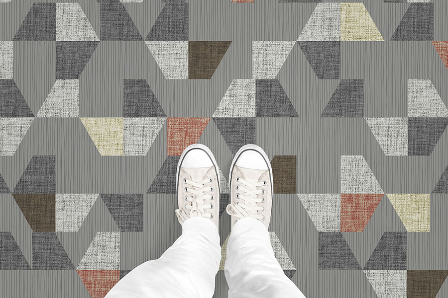 Design Pool partnered with Graphic Image Flooring