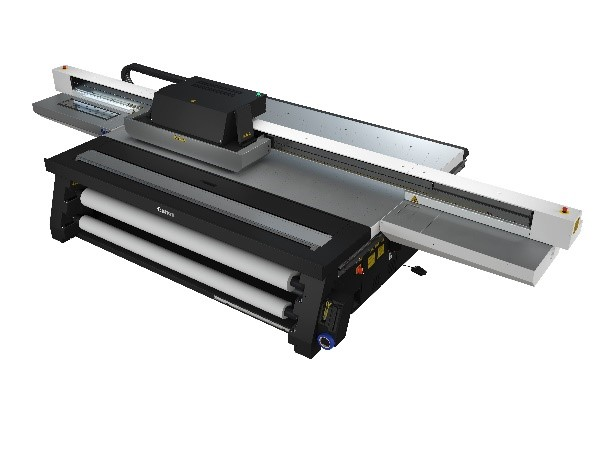 The new Canon Arizona 2300 series flatbed printer