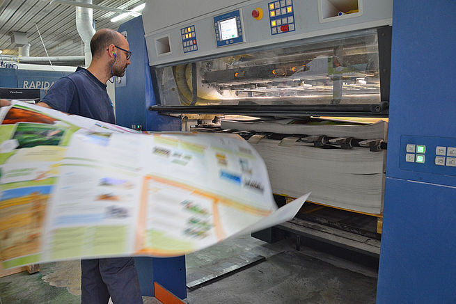 Koenig & Bauer large format press models display proven performance and extraordinary print quality.