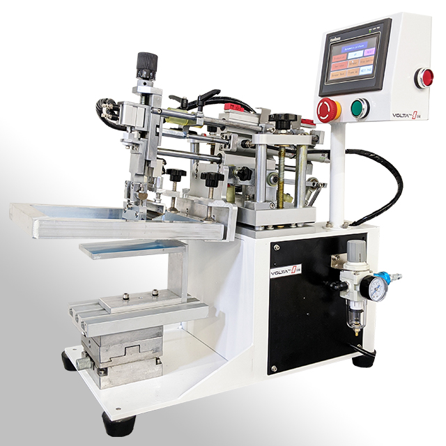 The Volta S150 screen printing machine