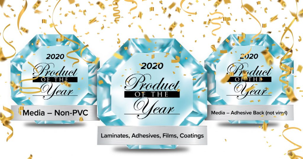 Drytac wins 3 Product of the Year awards