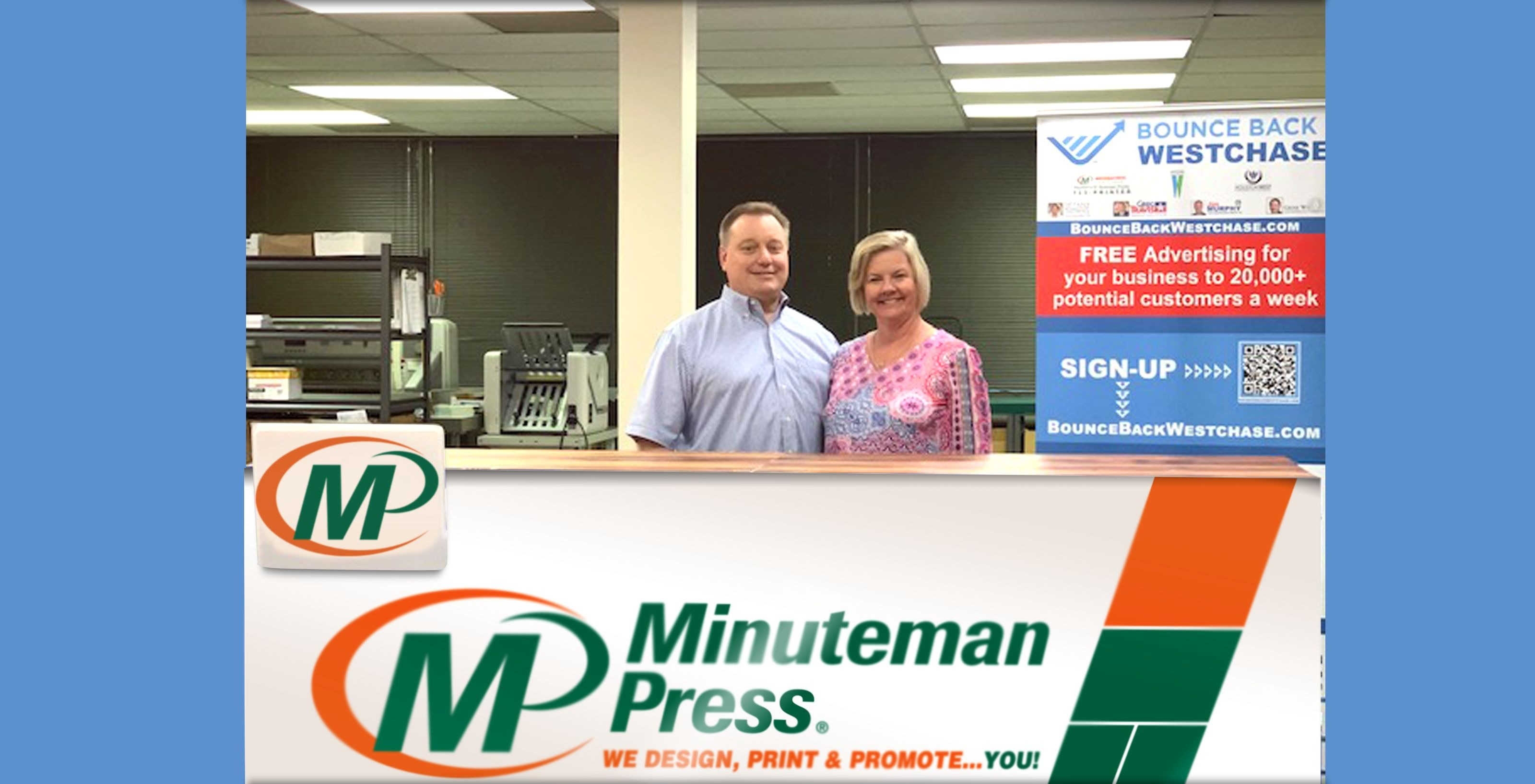 Minuteman Press Franchise helps local businesses bounce back