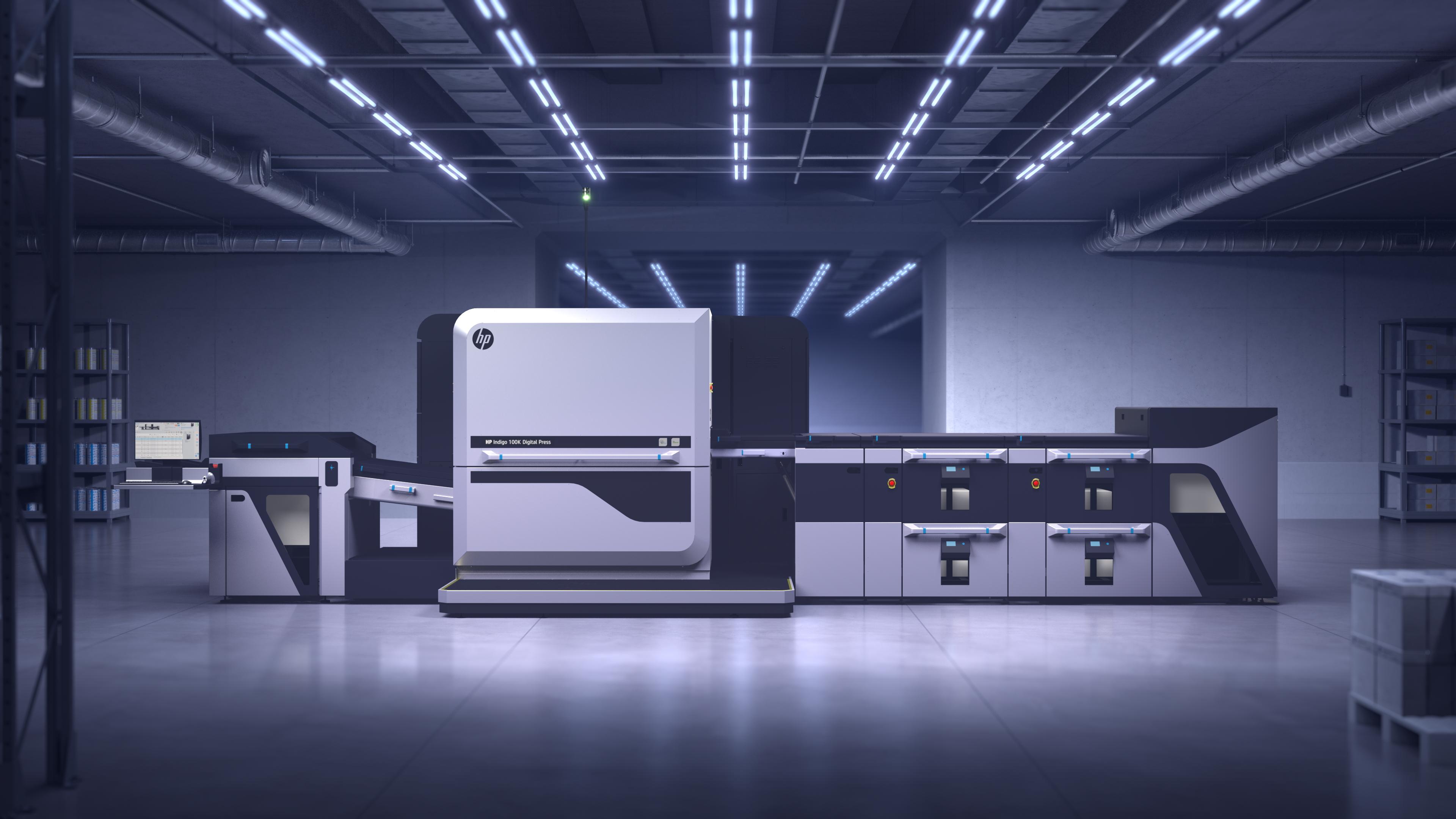HP Indigo 100K Digital Press — HP Inc.