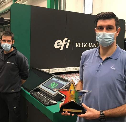 EFI Reggiani Bolt InterTech Award