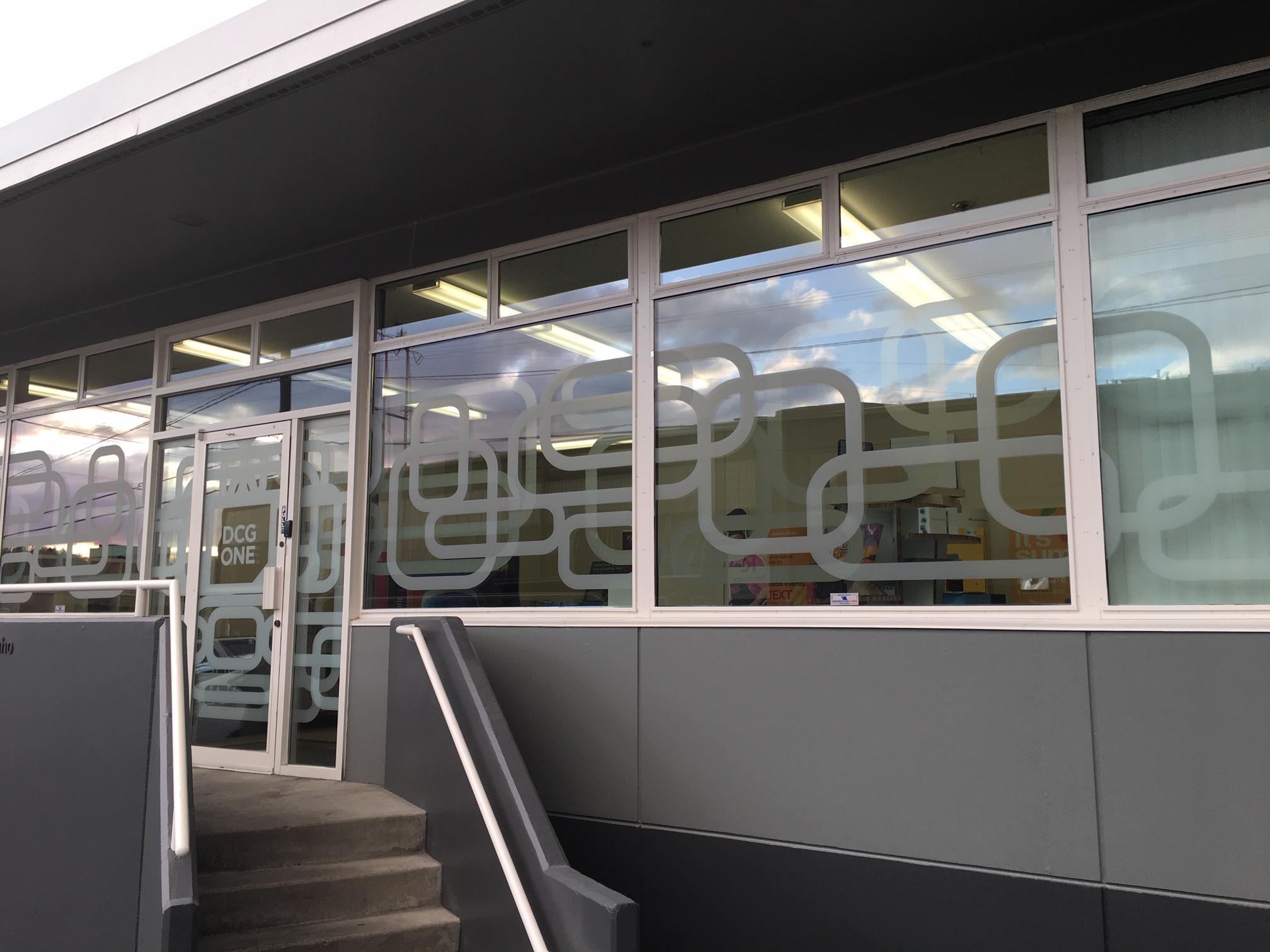 DCG ONE window graphics