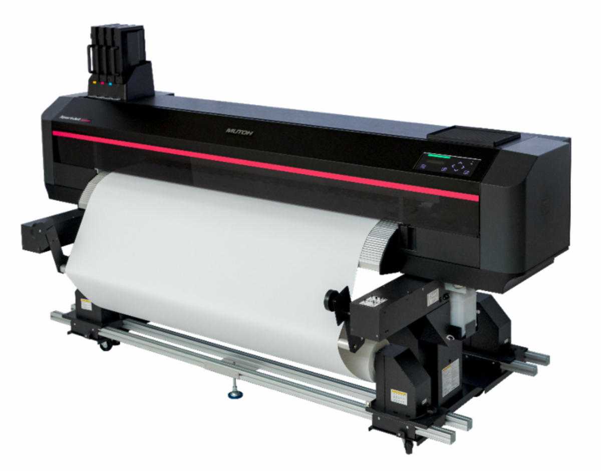 Mutoh XpertJet 64 Heavy Duty Feed and Take-Up System