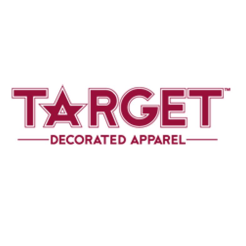 Target Decorated Apparel Logo