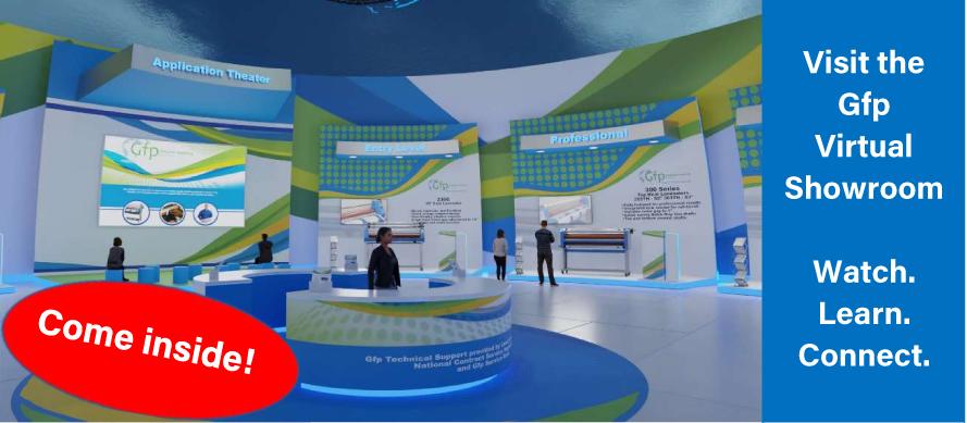 Gfp virtual showroom banner