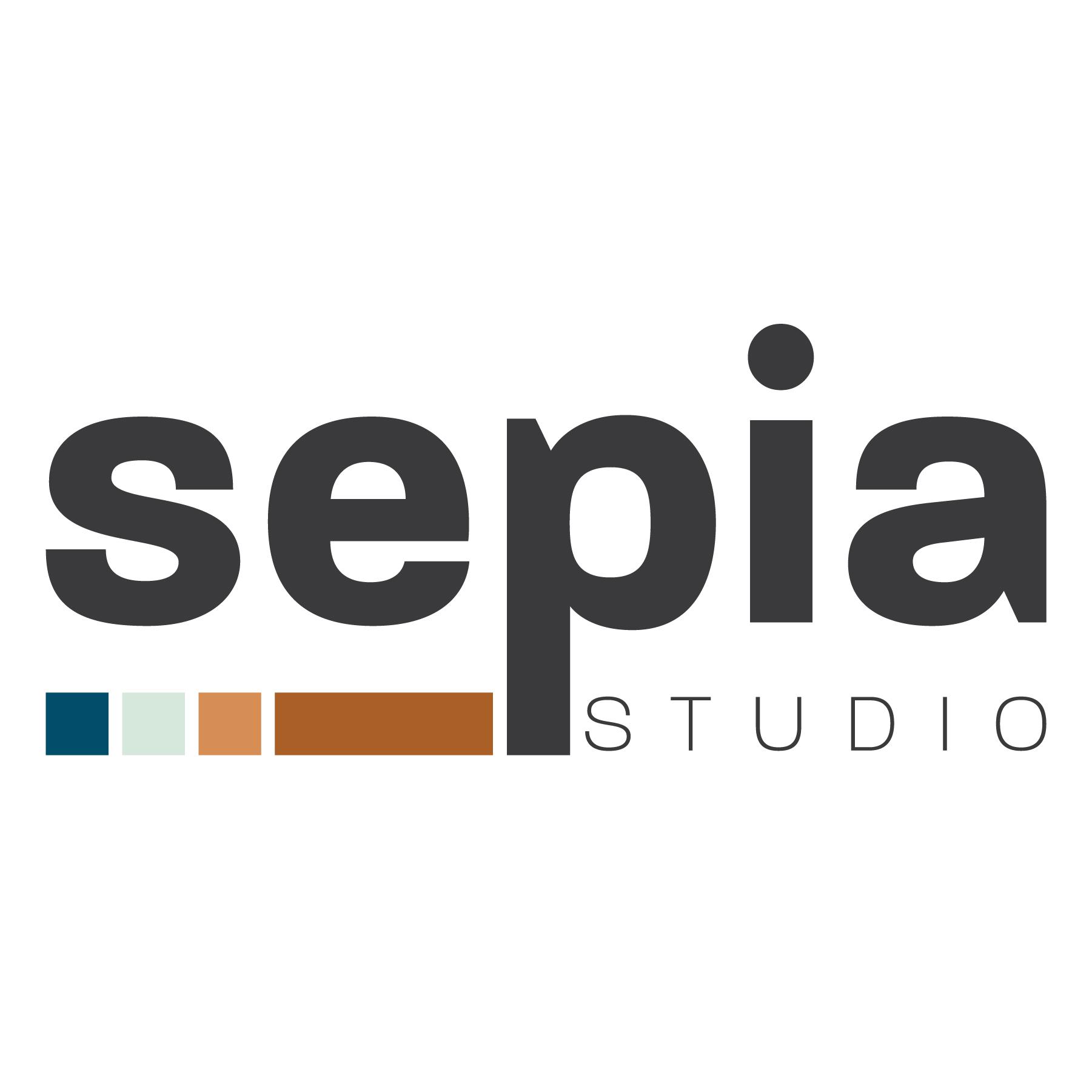 Sepia Studio logo, a Cushing division
