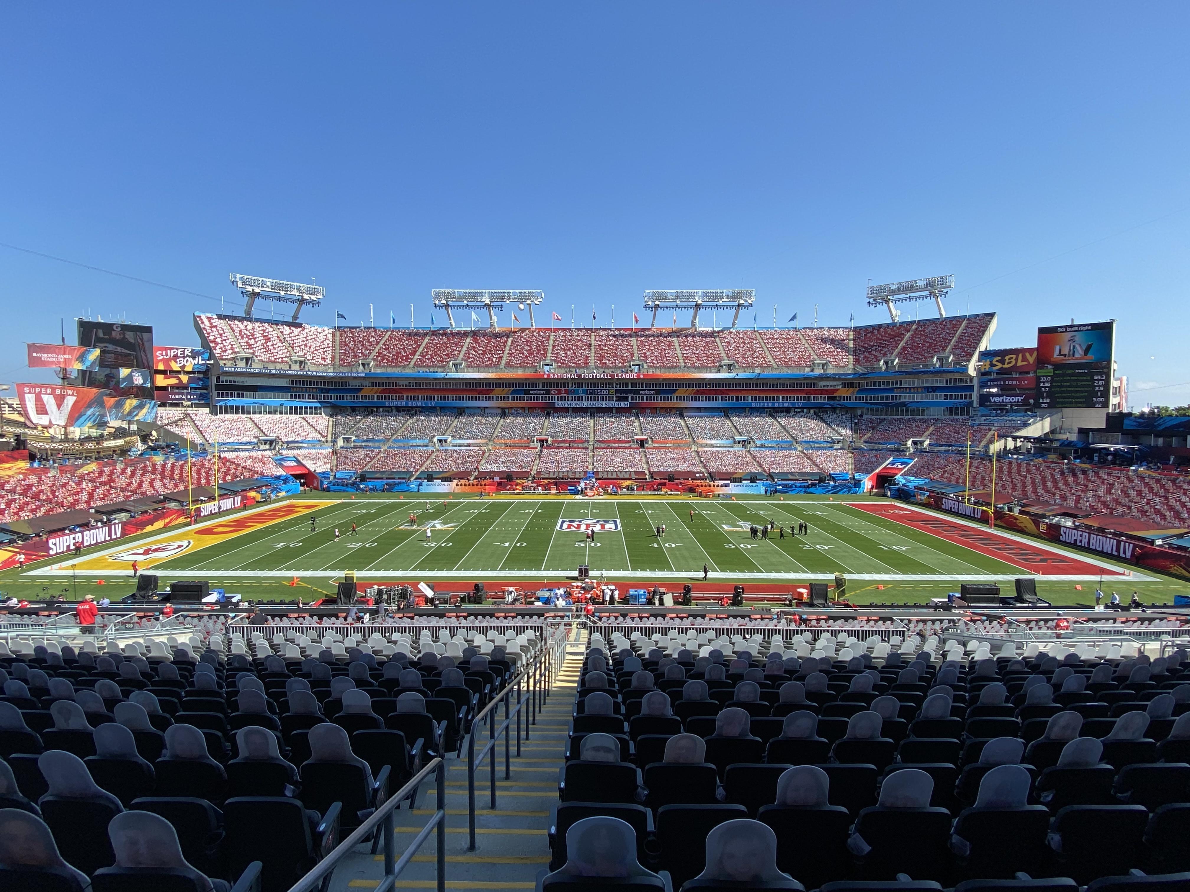 Raymond James Stadium, Super Bowl 2021