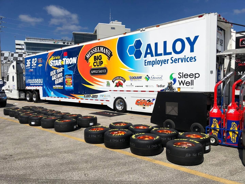 General Formulations is sponsoring NASCAR Xfinity driver Josh Williams.