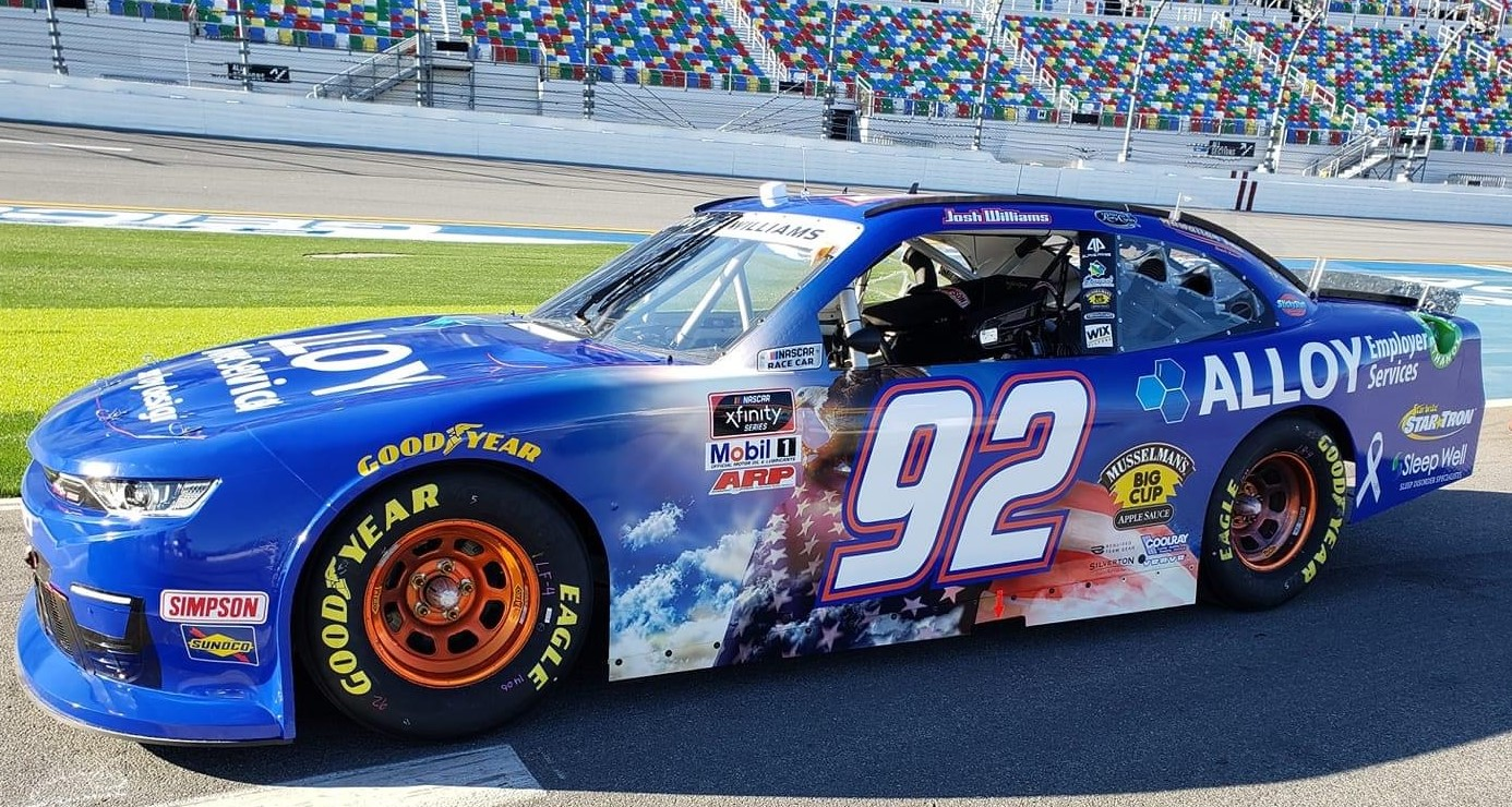 General Formulations is sponsoring NASCAR Xfinity driver Josh Williams.