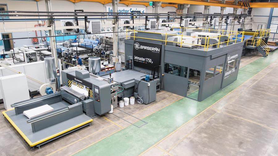 The Barberan JetMaster will use the PrintFactory Automation workflow.