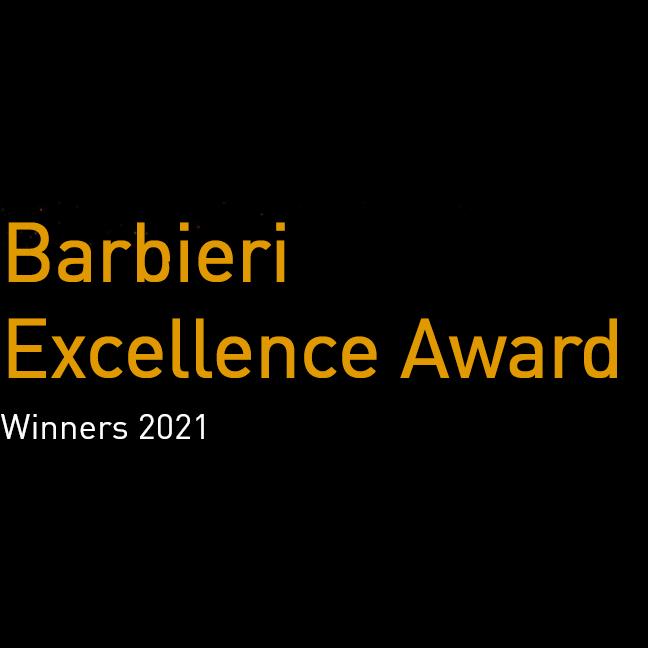 Barbieri Excellence Award Winners 2021