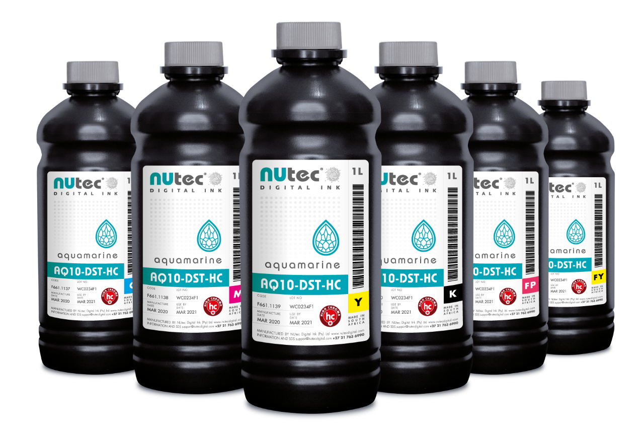 NUtec adds fluorescent options to dye sublimation ink line.