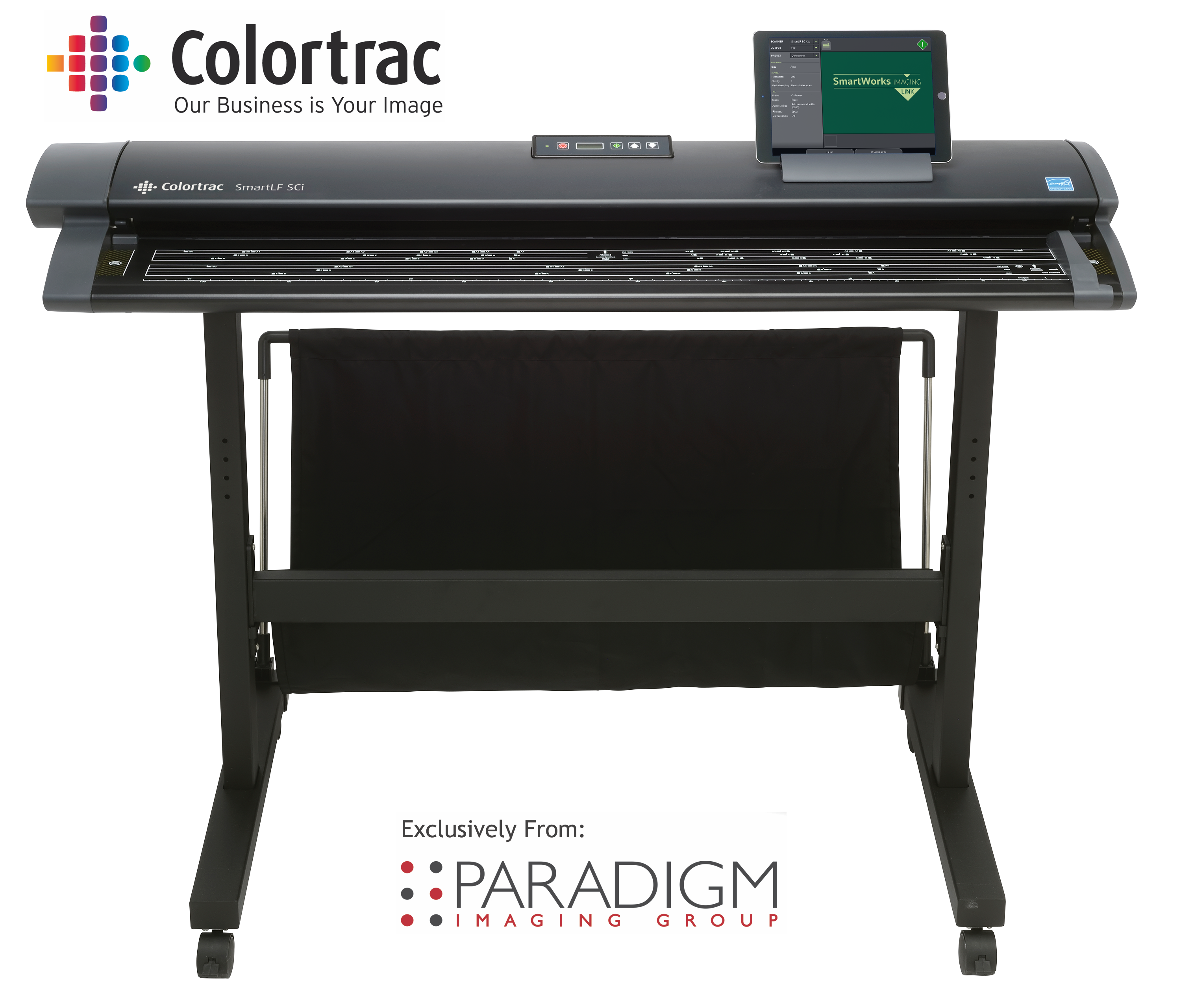 Paradigm Imaging Group introduced the Colortrac SmartLF SCi scanners.