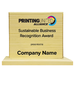 Sustainable Business Recognition Award winners recognized for Earth Day 2021.