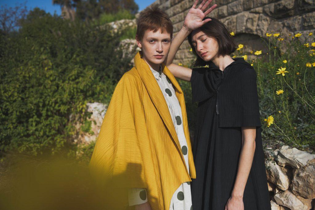 Sasson Kedem uses Kornit technology to create custom fabrics for fashion design.