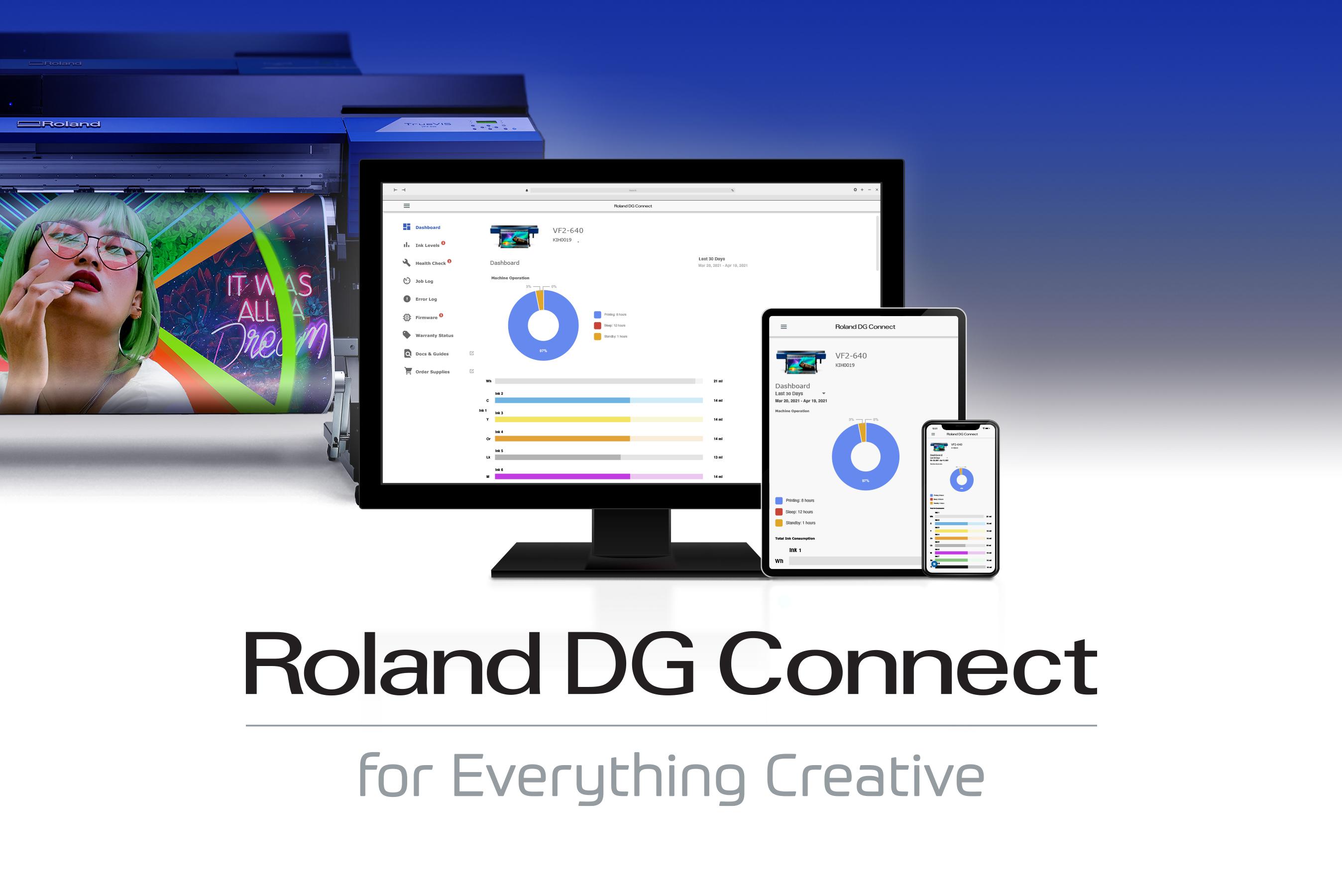 Roland DGA Announces New Roland DG Connect App