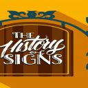 History of signs banner