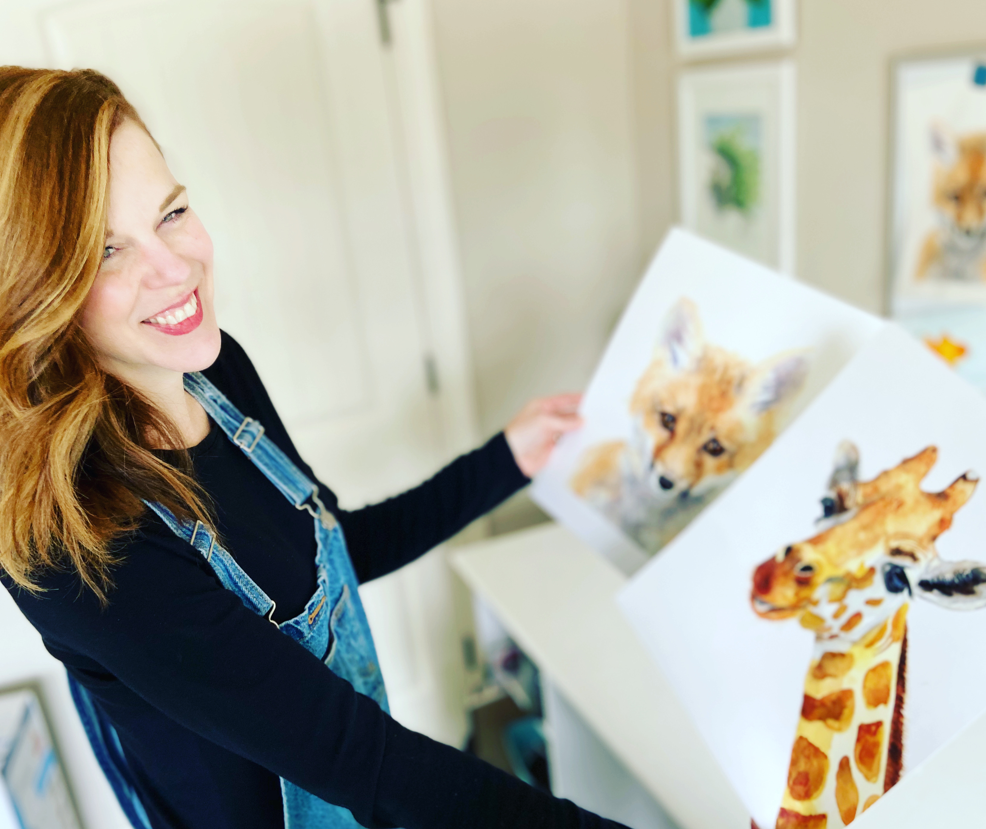 Minuteman Press helps Andrea Nelson bring her art business to life.