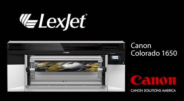 Lexjet announces partnership with Canon Solutions America