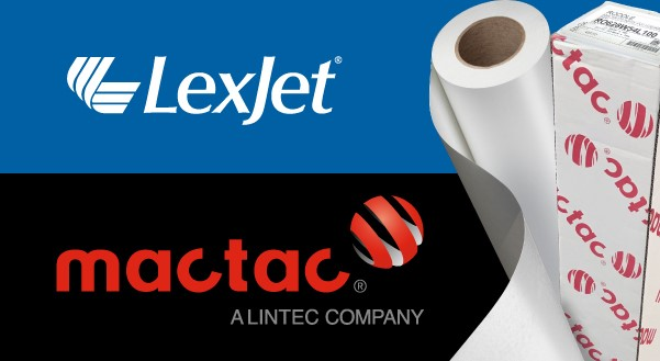 LexJet and Mactac form distribution agreement