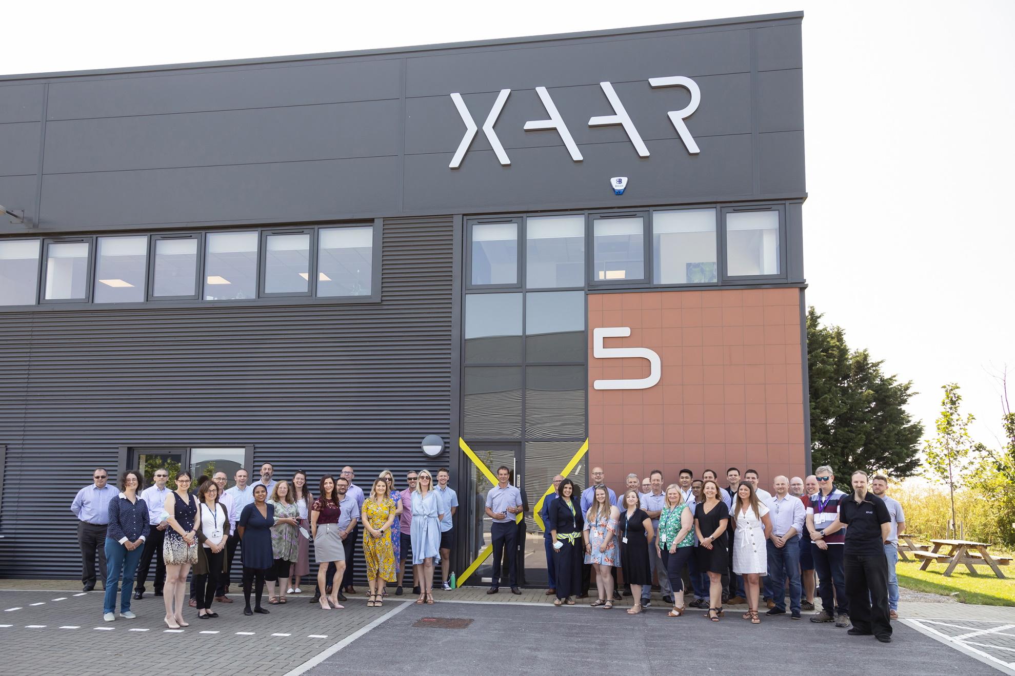 Xaar opens new corporate headquarters.